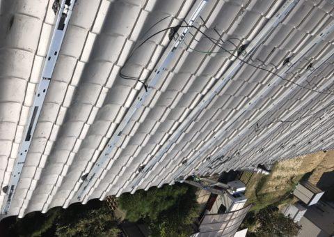 奈良県長州太陽光パネル 20枚CS-274B61施工後その他の写真3