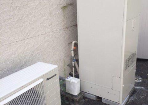 京都府Panasonicエコキュート(床暖対応)HE-D37FQS施工後その他の写真1
