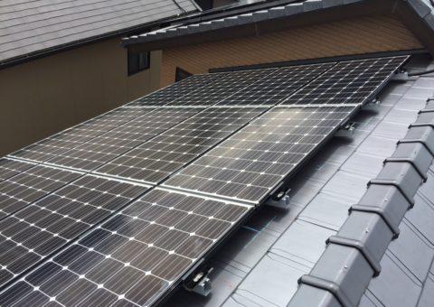 大阪府三菱太陽光パネル 22枚PV-MA2180K施工後その他の写真3