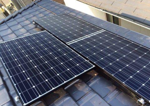 大阪府長州太陽光パネル  16枚CS-246B41施工後その他の写真1