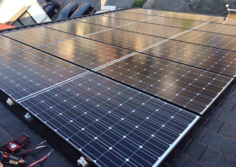 三重県長州産業 太陽光発電CS-246B41 26枚施工後その他の写真1