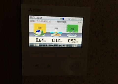 和歌山県三菱太陽光パネル 6枚PV-MA2180K 施工後その他の写真4