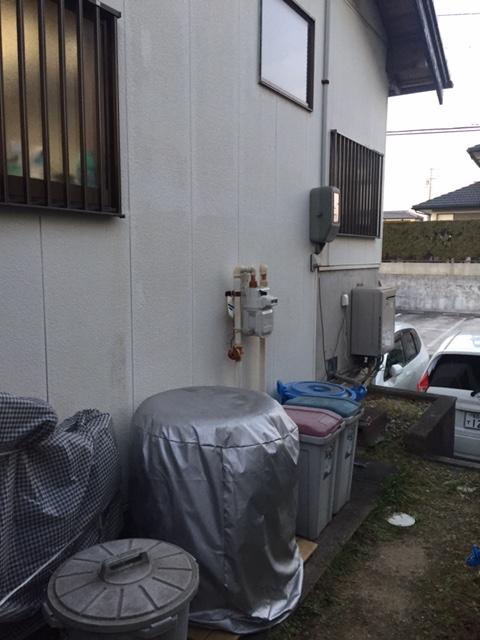 大阪府東芝エコキュートHWH-B465HA施工前の写真