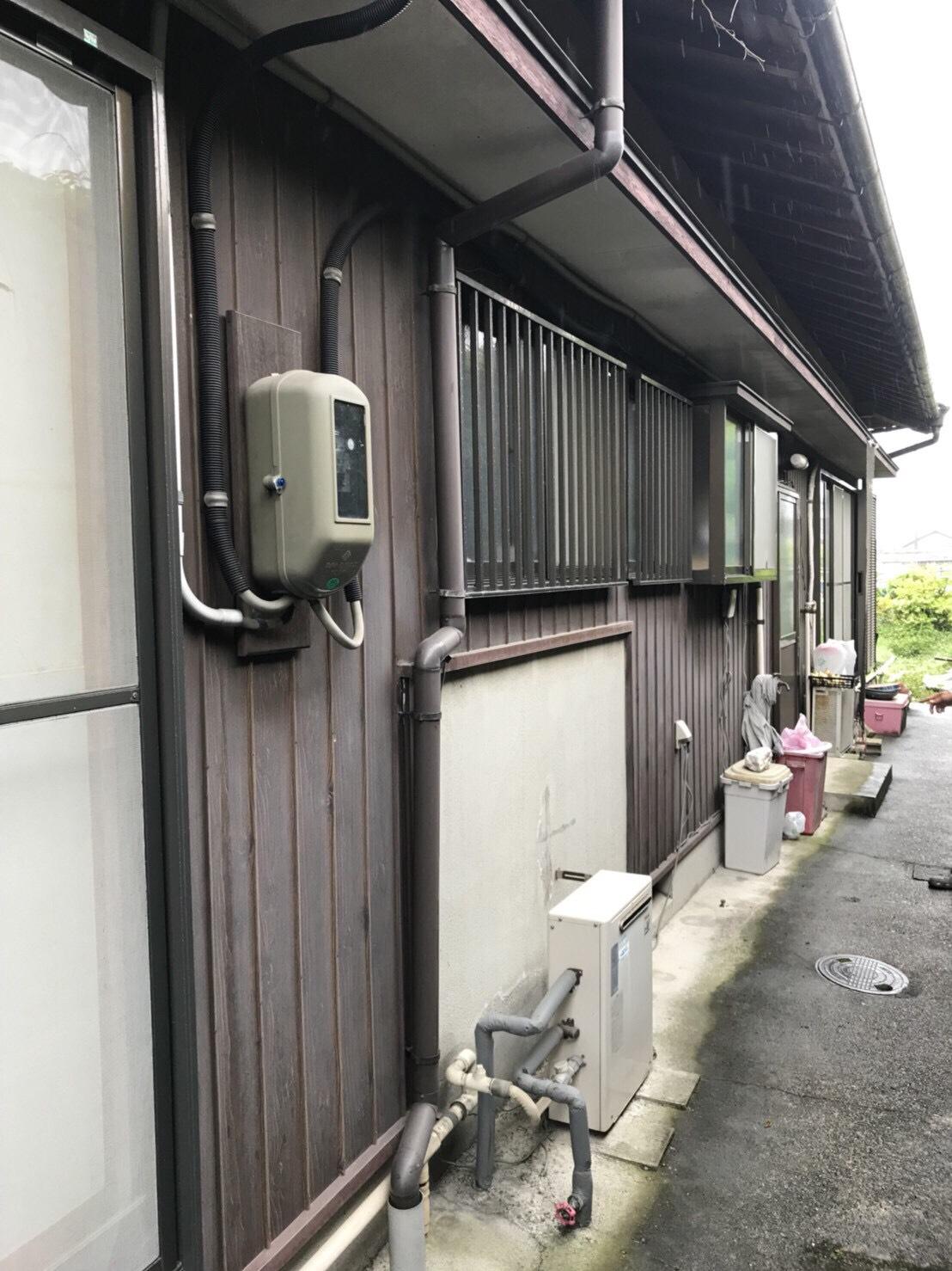 大阪府東芝エコキュートHWH-F375H施工前の写真