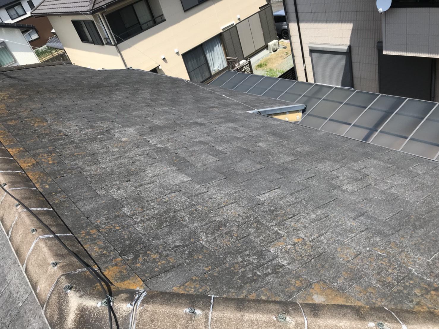 大阪府長州太陽光発電CS-274B61×11枚施工前の写真