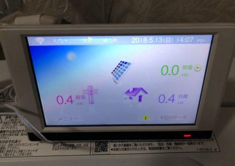 大阪府長州太陽光発電CS-274B61×11枚施工後その他の写真4