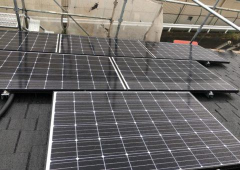 大阪府長州太陽光発電CS-274B61×11枚施工後その他の写真3