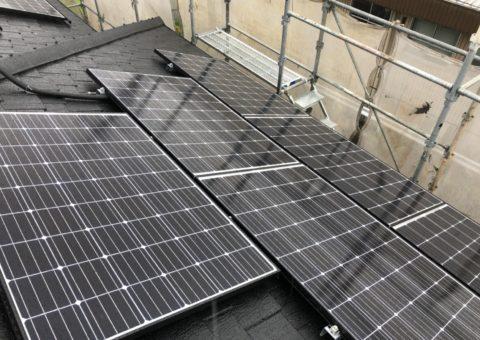 大阪府長州太陽光発電CS-274B61×11枚施工後その他の写真1