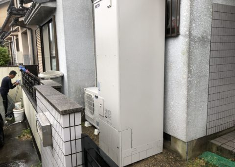 大阪府三菱エコキュートSRT-S463U施工後その他の写真1