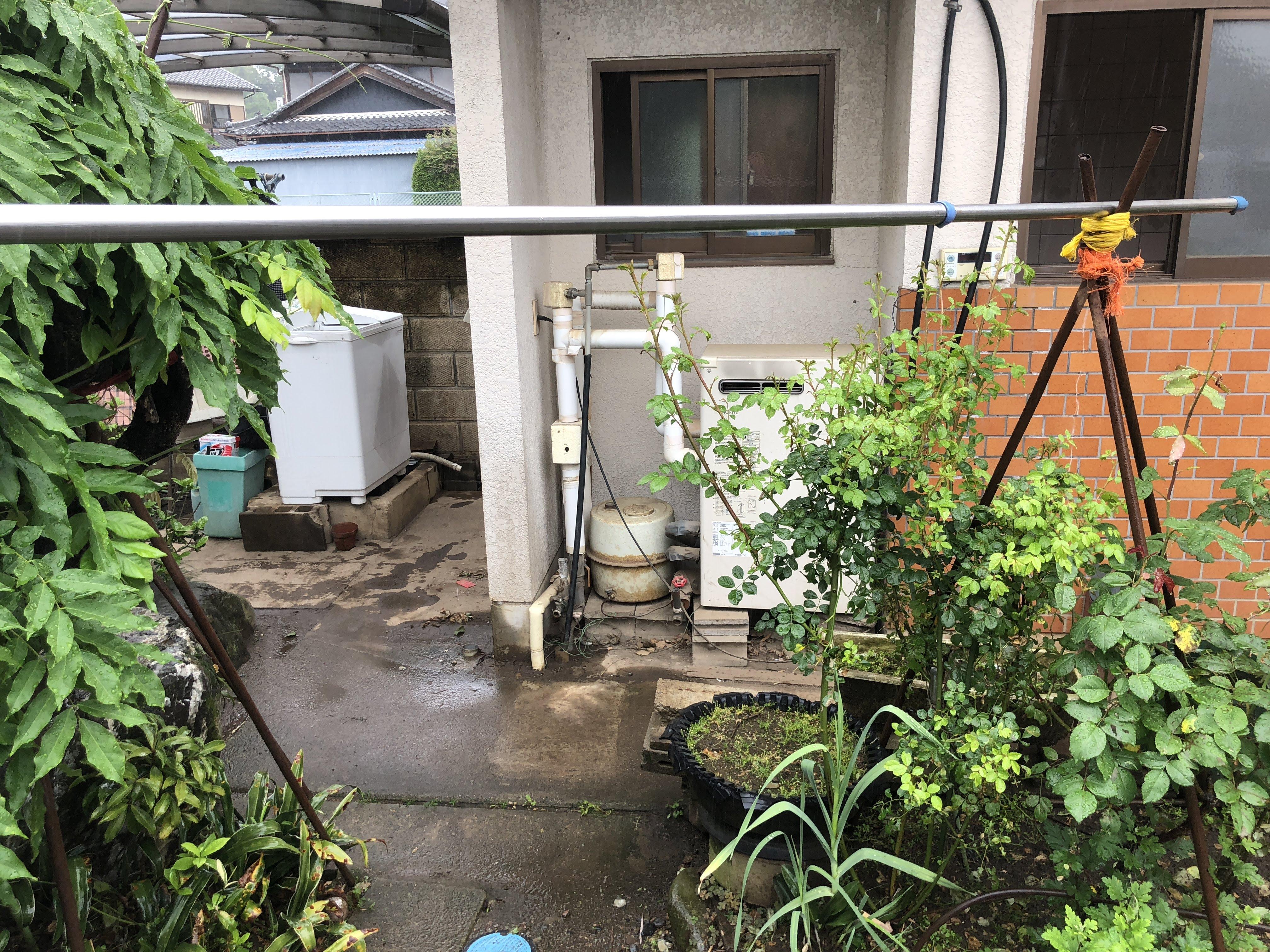 大阪府三菱エコキュートSRT-NK373D施工前の写真