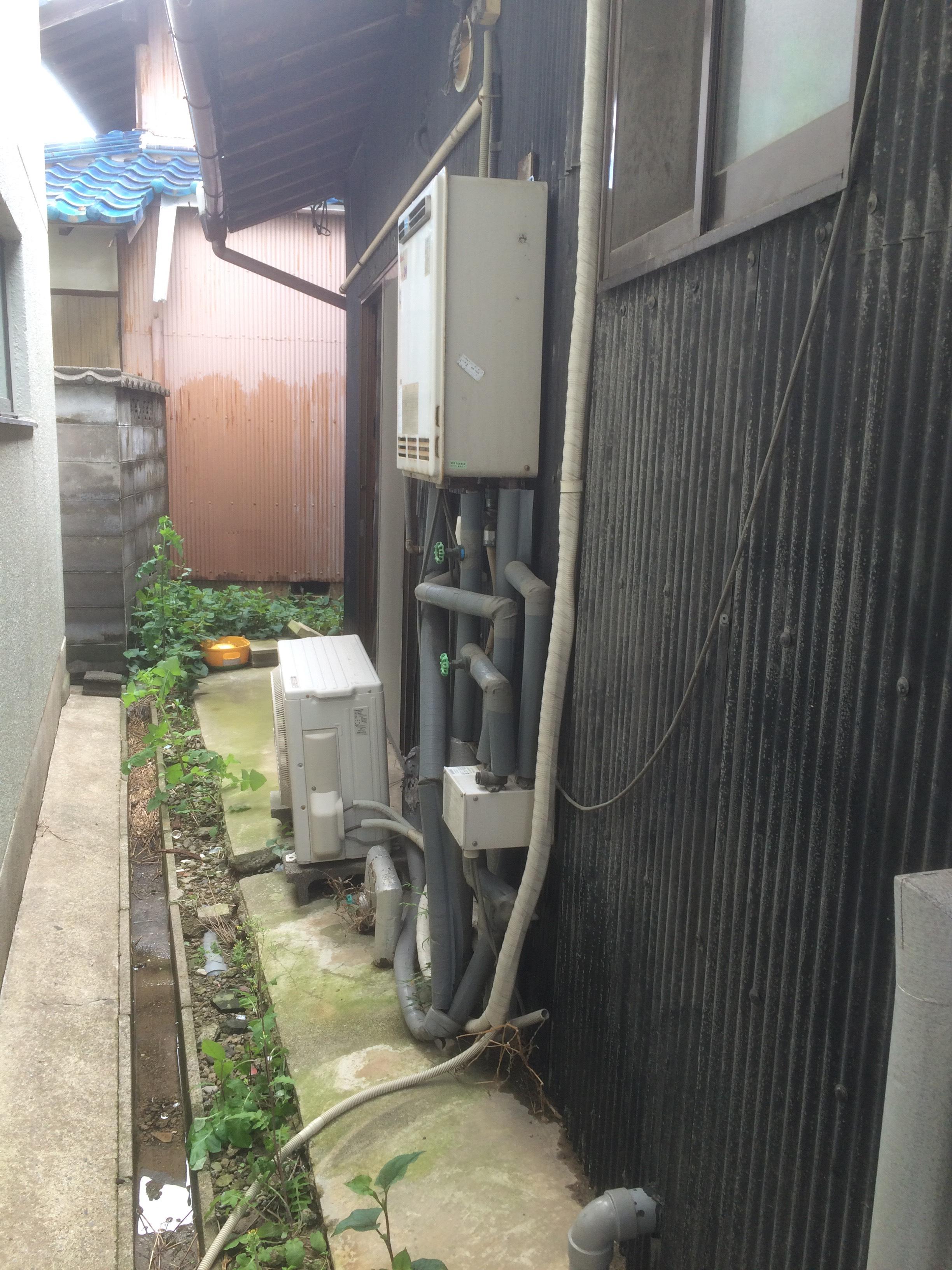 大阪府三菱エコキュートSRT-ST553U施工前の写真