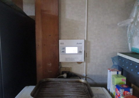 大阪府三菱エコキュートSRT-S463U施工後その他の写真3