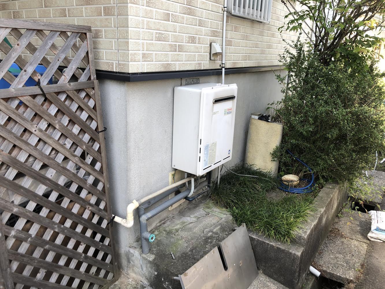 大阪府三菱エコキュートSRT-SK463D施工前の写真