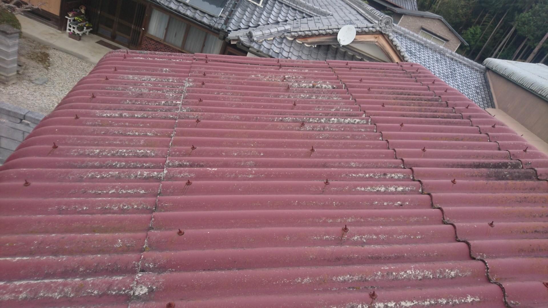 大阪府長州太陽光CS-274B61×21枚施工前の写真