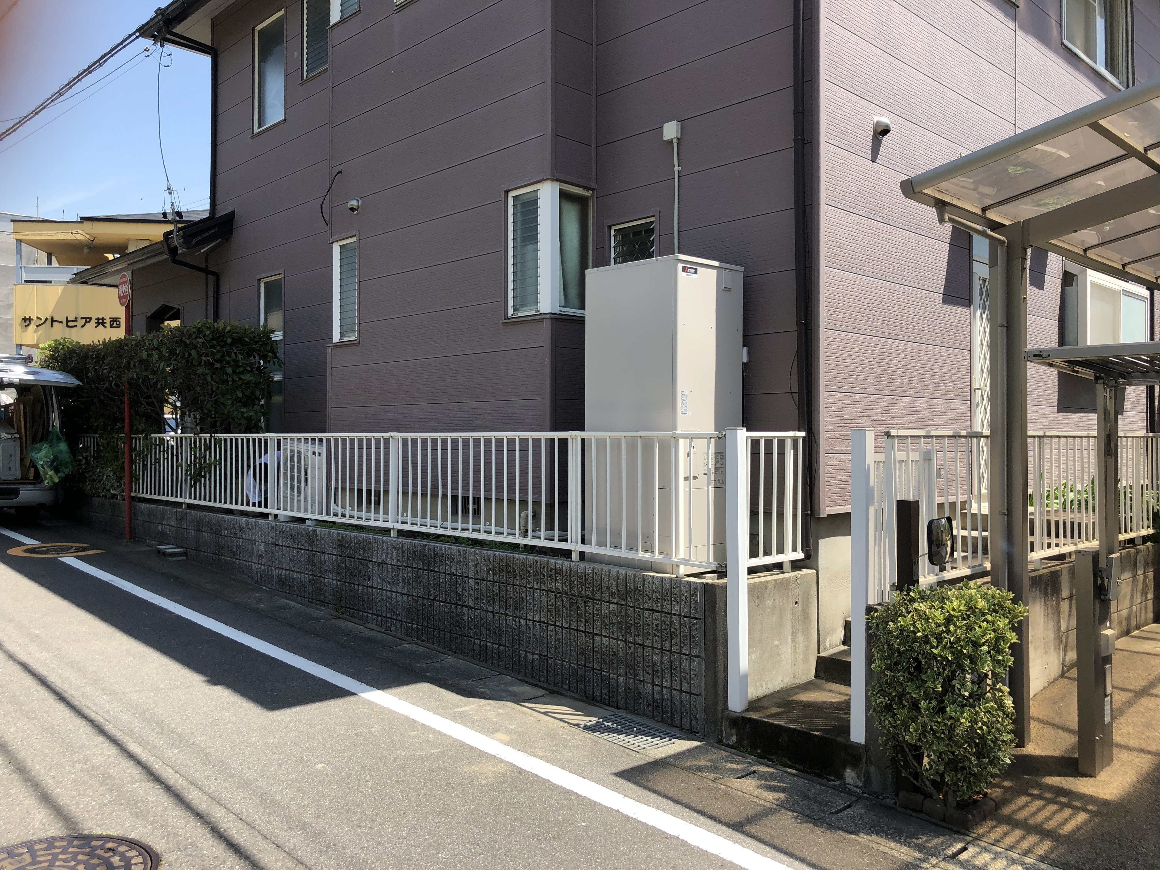 大阪府三菱エコキュートSRT-S374UA施工後の写真