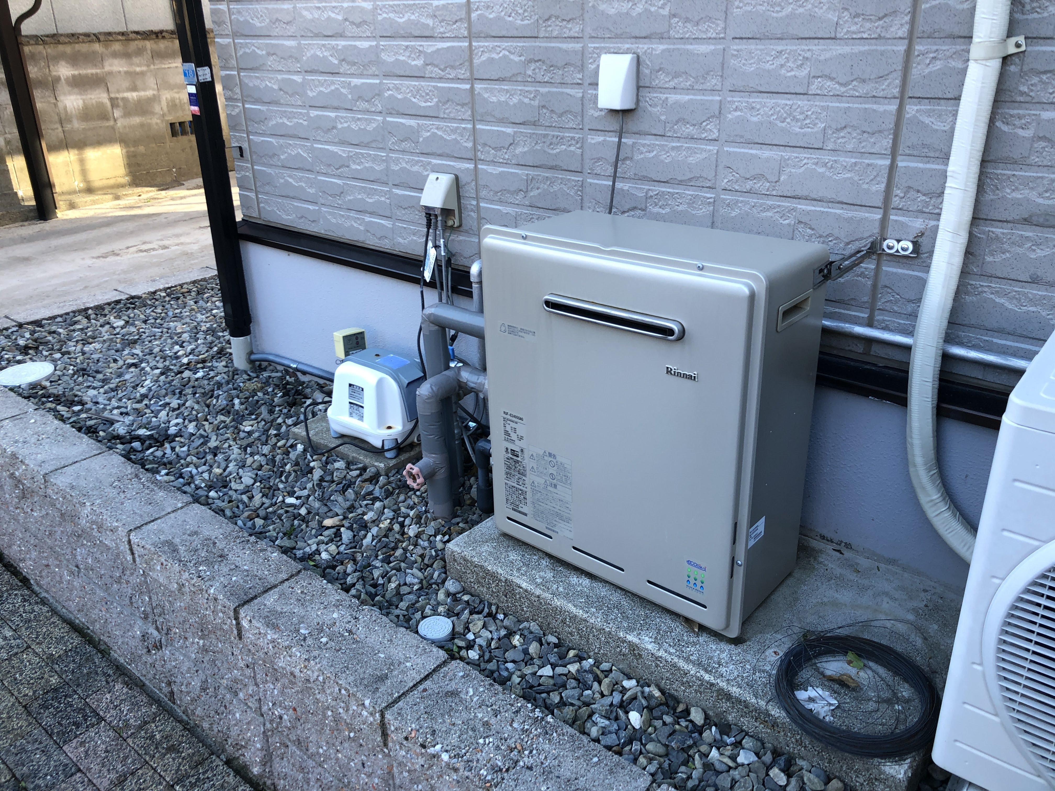 大阪府三菱エコキュートSRT-W373施工前の写真