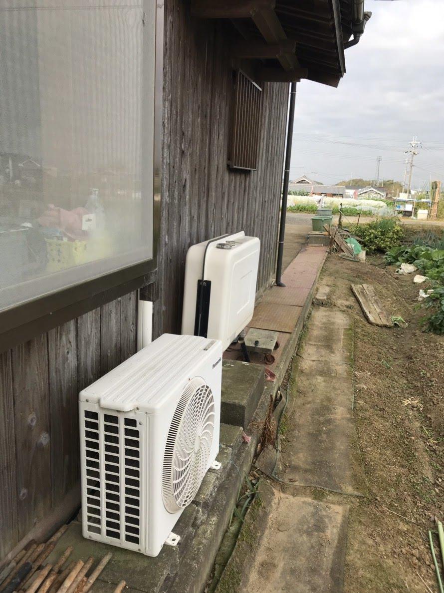 大阪府三菱エコキュートSRT-SK373D施工前の写真