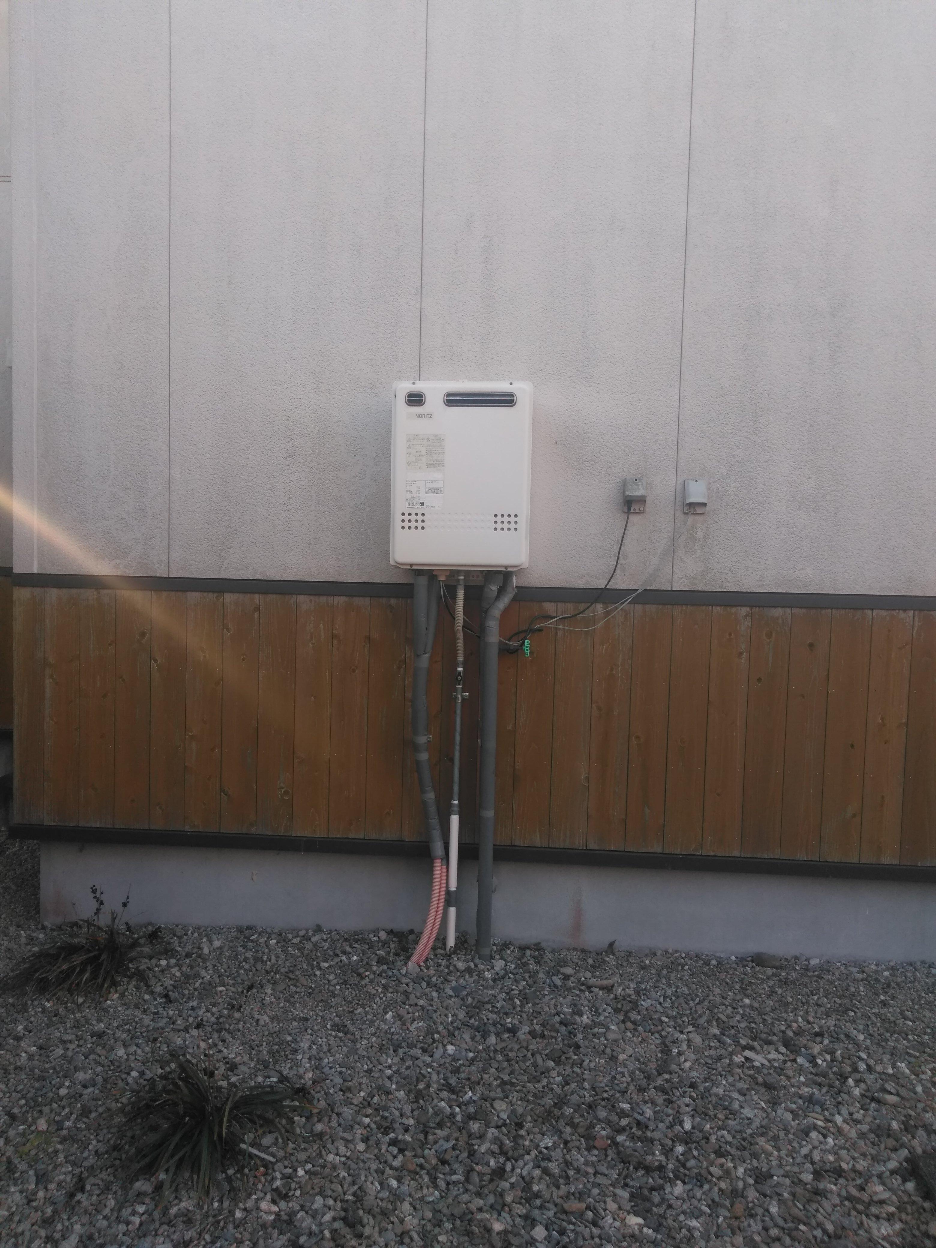 兵庫県三菱IHクッキングヒーター三菱エコキュート奈良県 H様邸 エコキュート工事施工前の写真