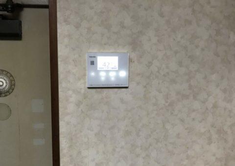 大阪府東芝エコキュートHWH-B375N施工後その他の写真2