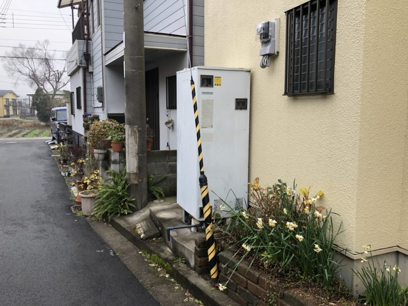 兵庫県東芝エコキュートHWH-F375施工前の写真