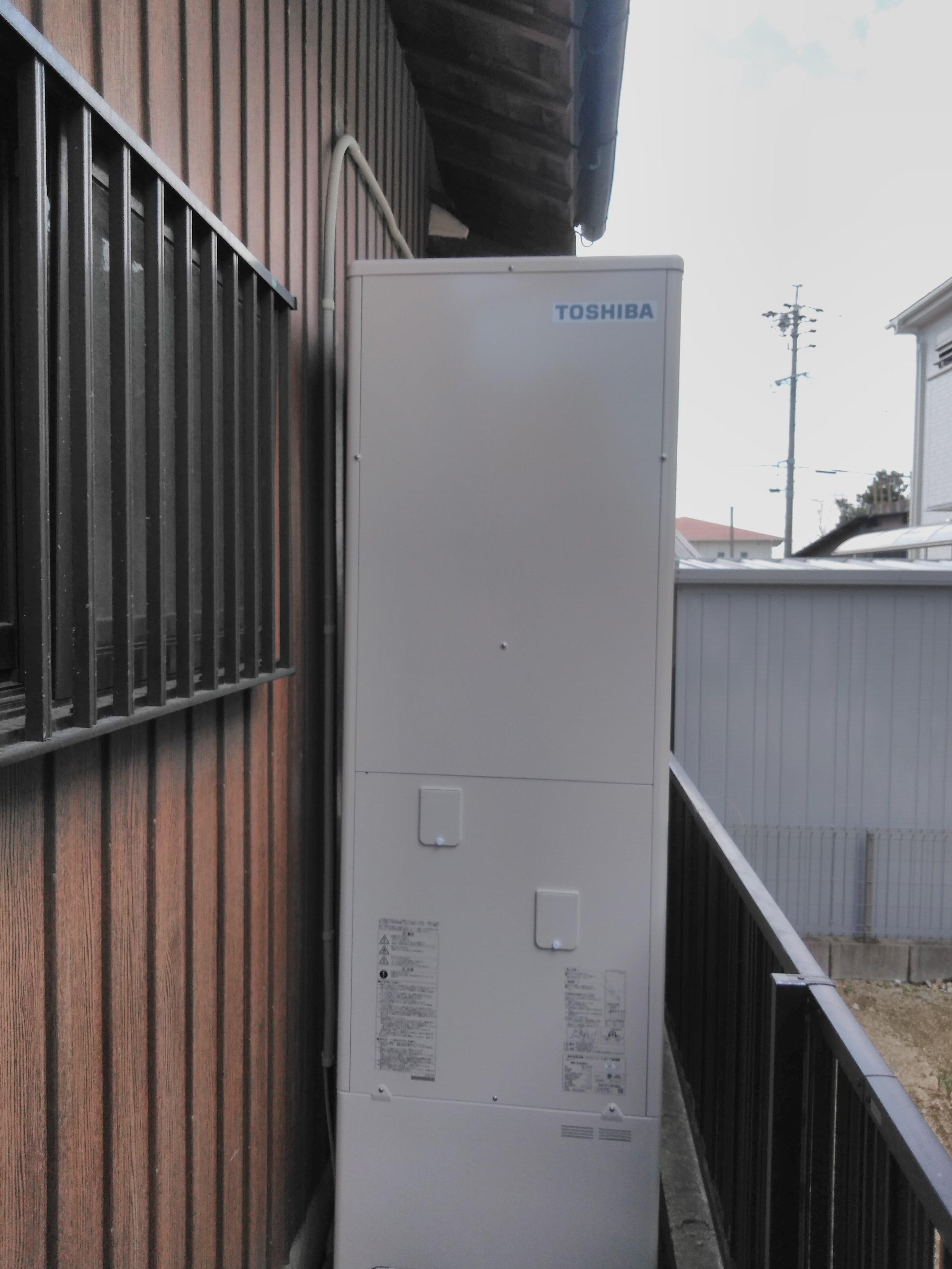 大阪府三菱エコキュートSRT-SK464D施工後の写真
