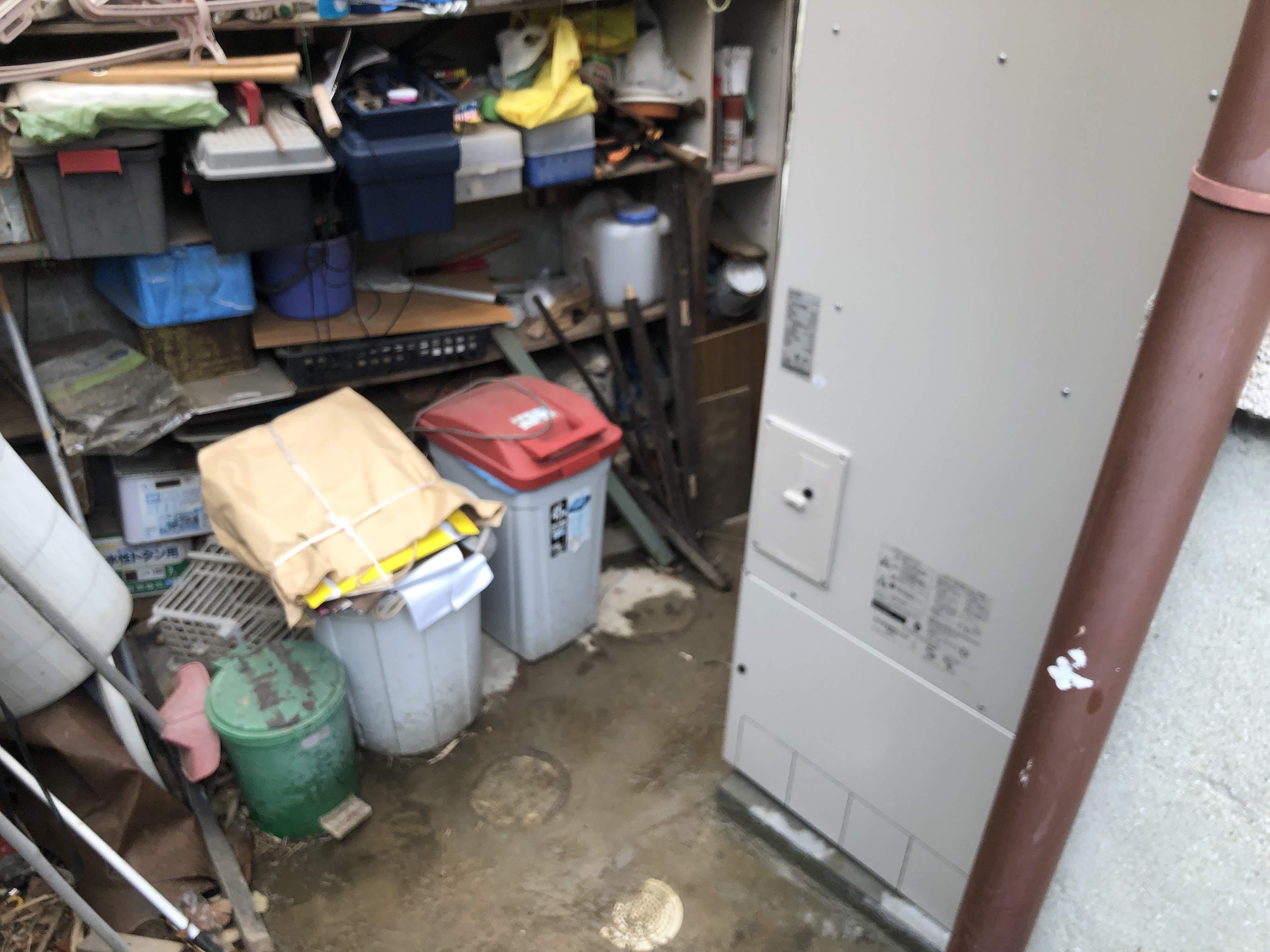 奈良県三菱エコキュート SRT-SK374D施工後の写真