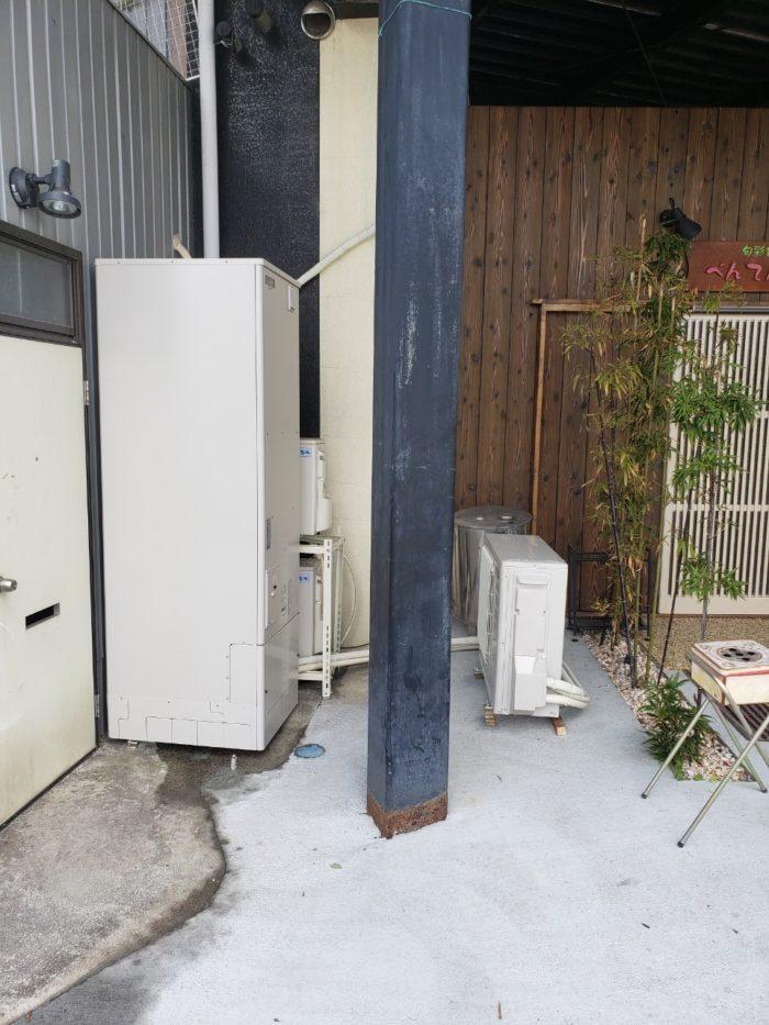 三菱エコキュートSRT-W374施工後の写真