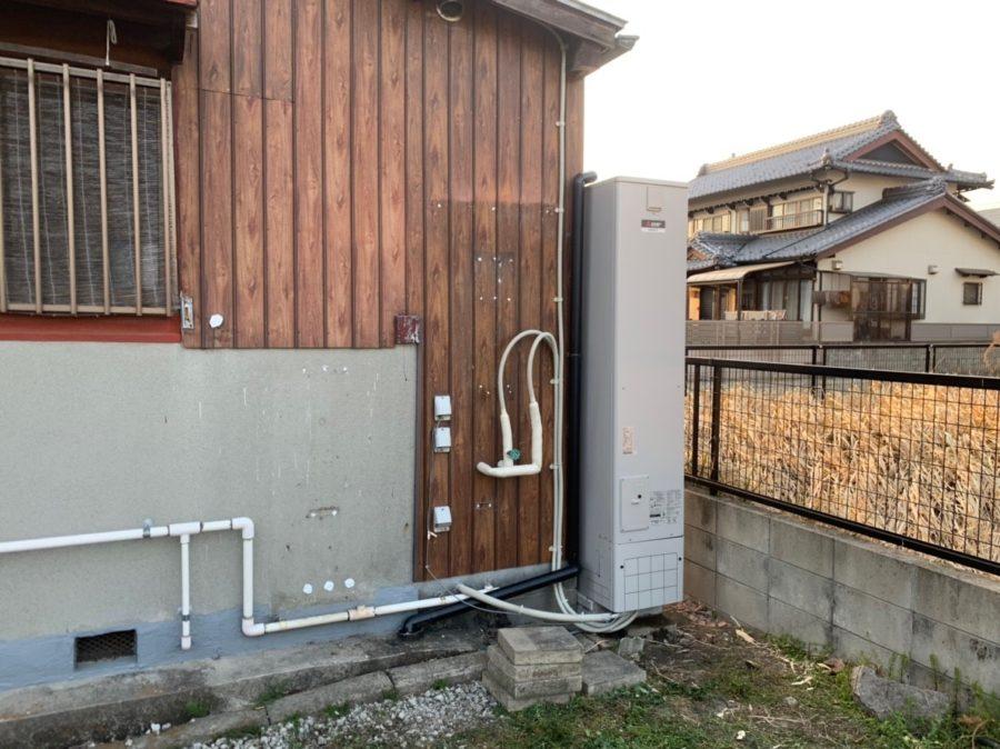 大阪府三菱エコキュートSRT-W434Z施工後の写真