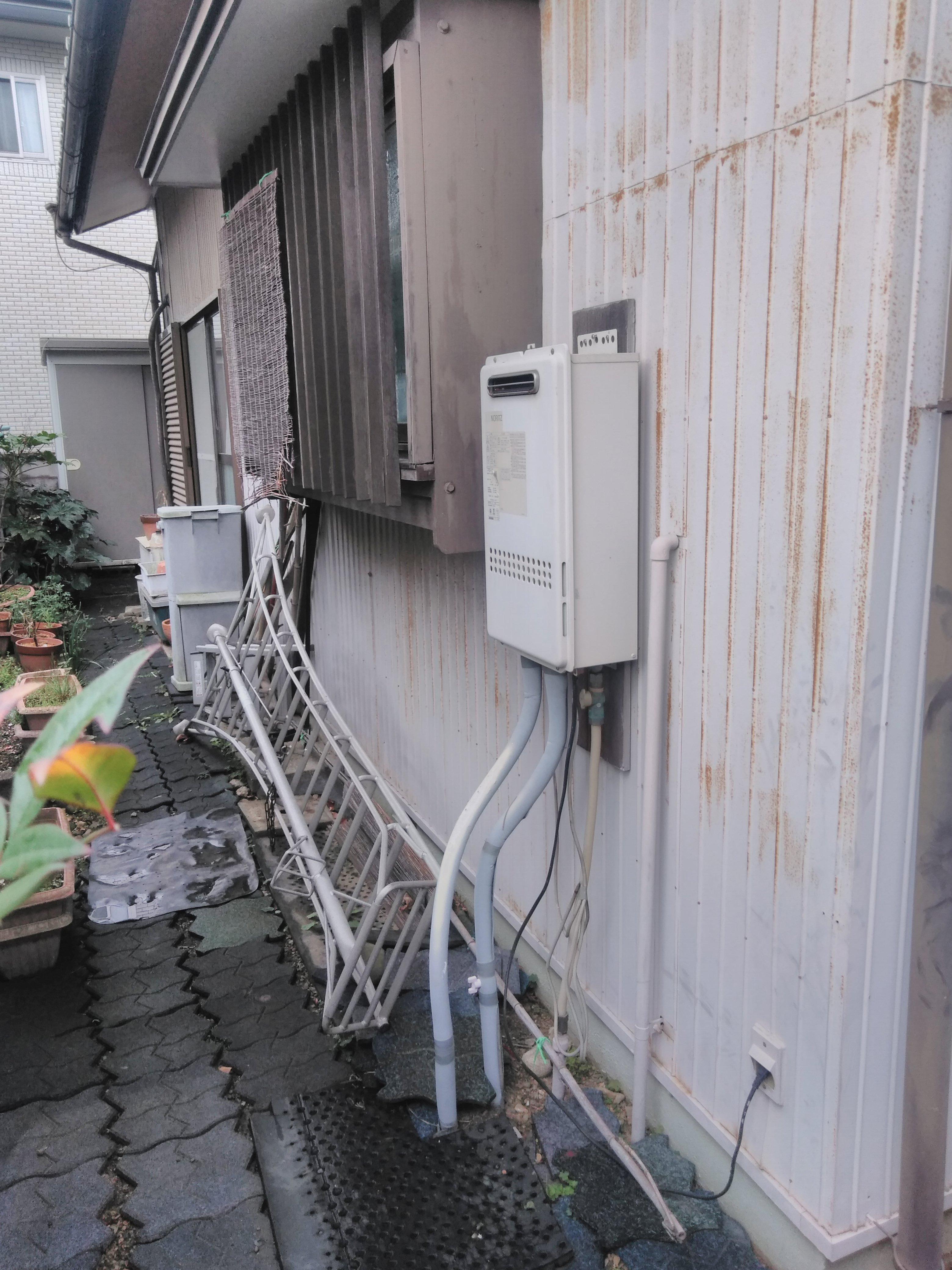 大阪府三菱エコキュートSRT-SK374U施工前の写真