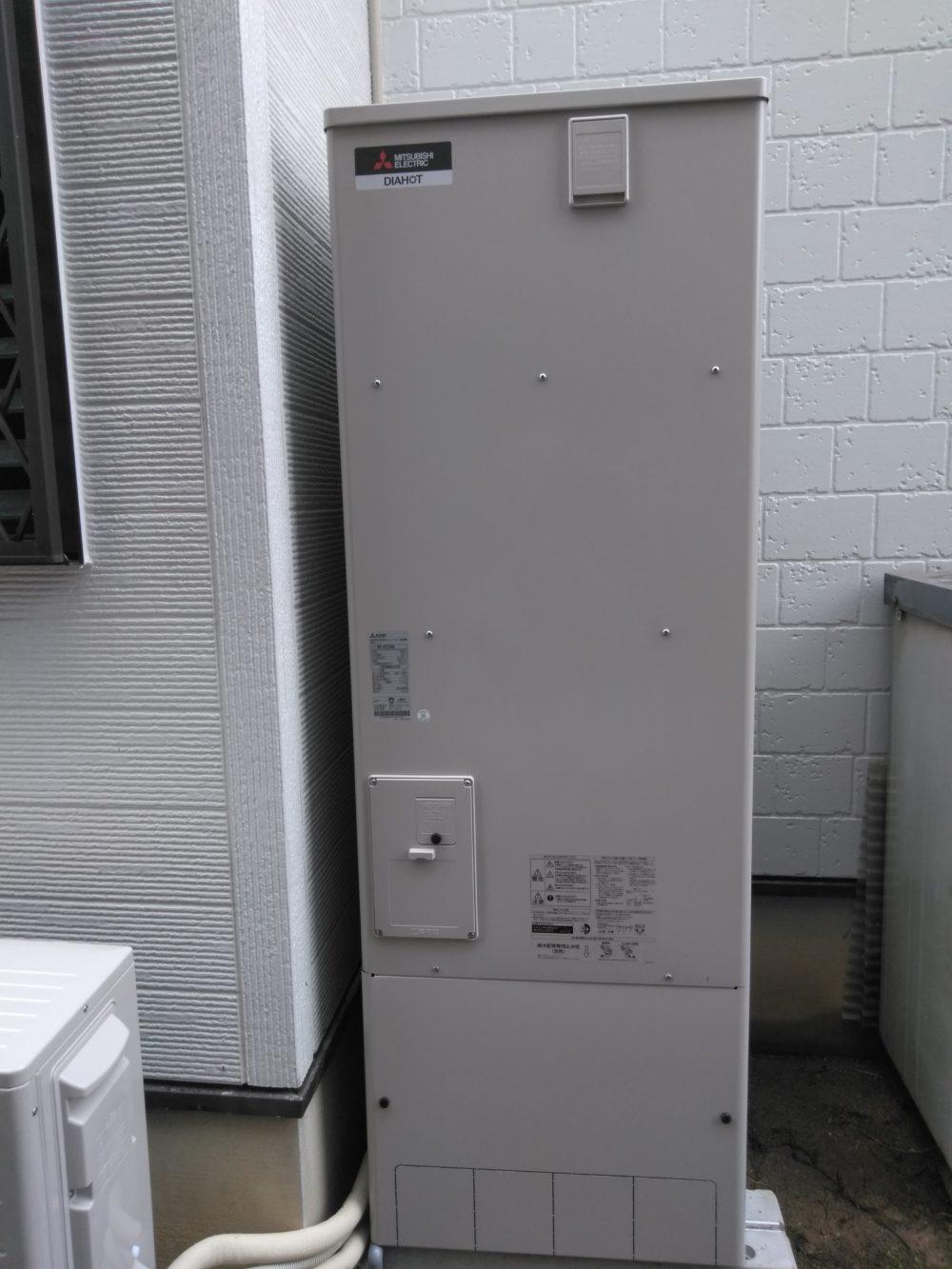 大阪府三菱エコキュートSRT-N374施工後の写真