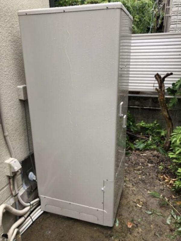 兵庫県東芝エコキュートHWH-B375A施工後の写真