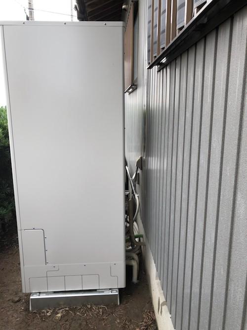 兵庫県三菱エコキュートSRT-S374施工後の写真