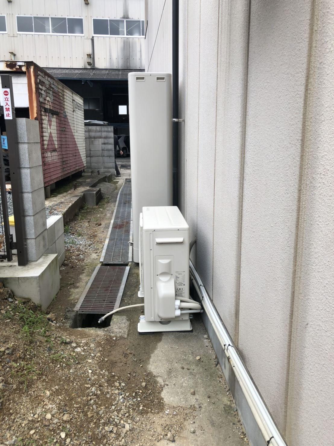 兵庫県三菱エコキュートSRT-W374Z施工後の写真