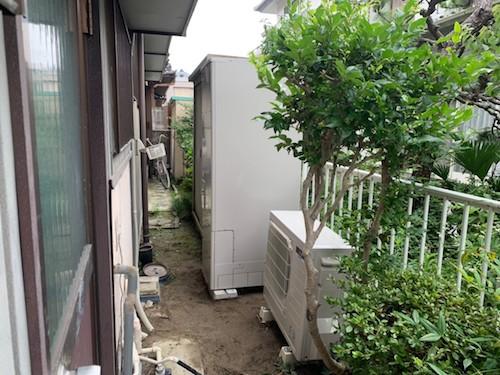 兵庫県三菱エコキュート SRT-S374UA施工後の写真