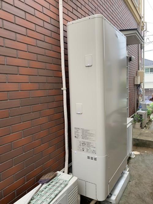 兵庫県東芝エコキュートHWH-B376HW施工後の写真
