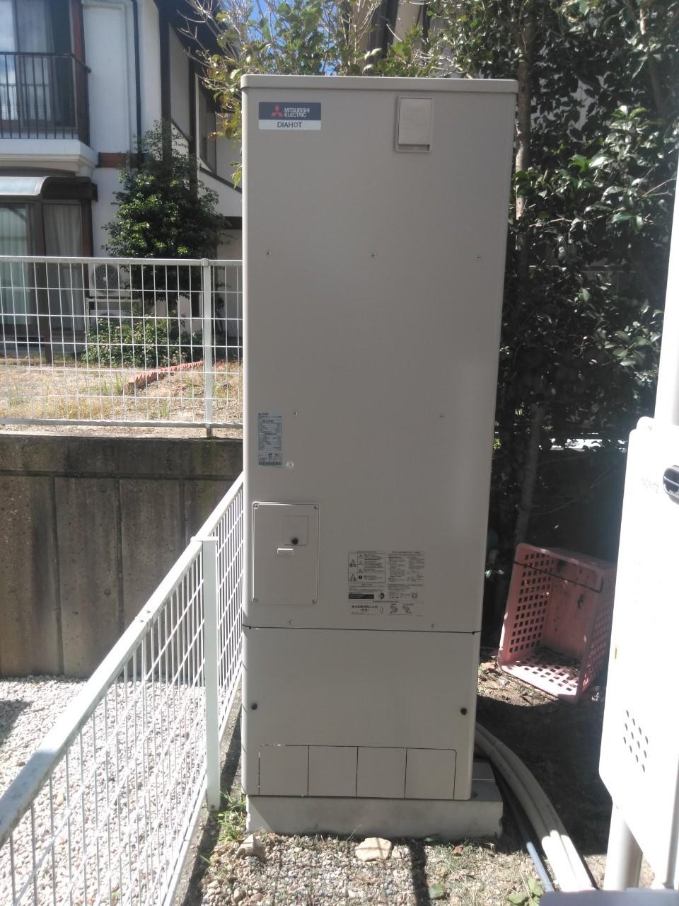 兵庫県三菱エコキュートSRT-S374A施工後の写真