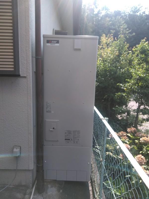 兵庫県三菱エコキュートSRT-W374施工後の写真