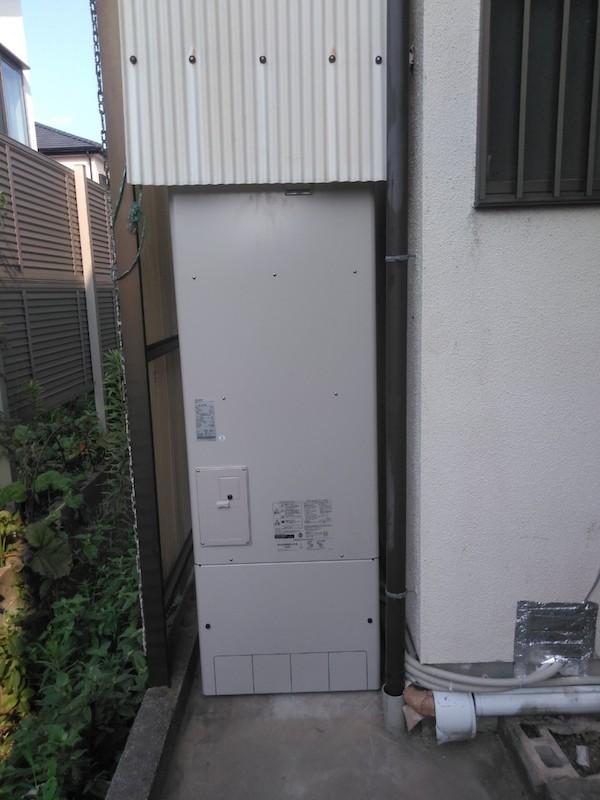 兵庫県三菱エコキュートSRT-W464施工後の写真