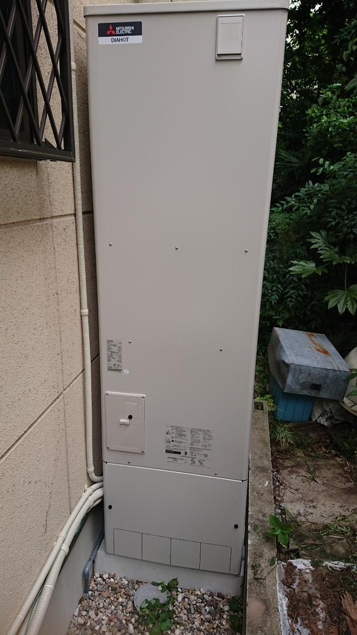 兵庫県三菱エコキュートSRT-N374施工後の写真