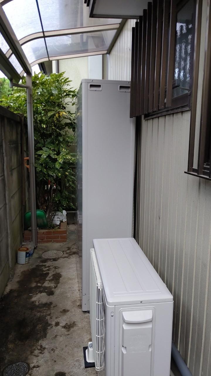 大阪府三菱エコキュートSRT-S374UZ施工後の写真