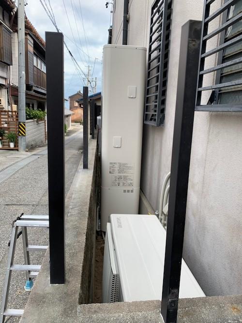 大阪府三菱エコキュートSRT-W374Z施工後の写真
