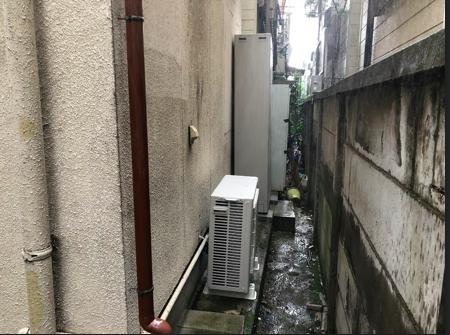 奈良県三菱エコキュートSRT-W374Z施工後の写真