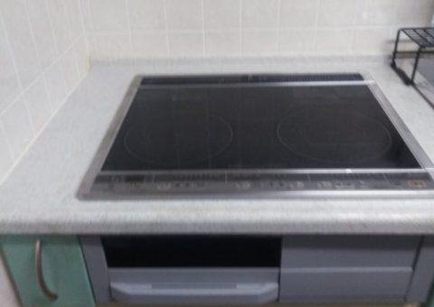京都府三菱エコキュートSRT-S434UZIHクッキングヒーターCS-G217DR浴室乾燥機V141BZ施工後その他の写真1