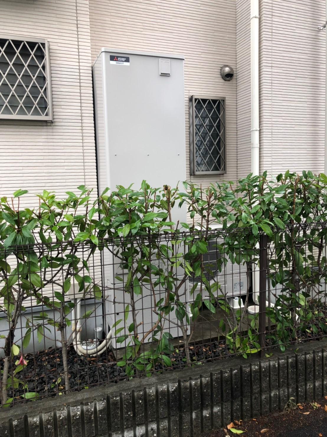 大阪府三菱エコキュートSRT–464UA施工後の写真