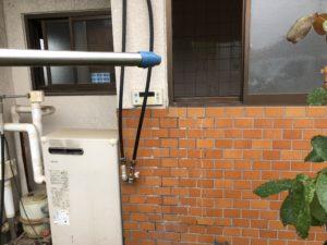 大阪府三菱エコキュートSRT-S374U施工前の写真