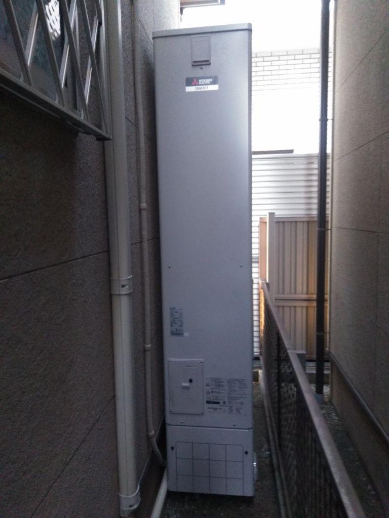 京都府三菱エコキュートSRT-S434UZIHクッキングヒーターCS-G217DR浴室乾燥機V141BZ施工後の写真