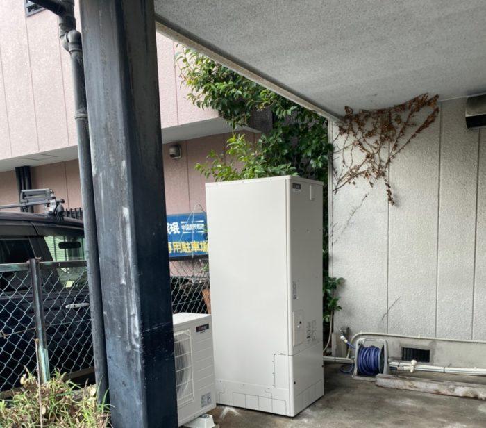大阪府三菱エコキュート SRTS374U施工後の写真