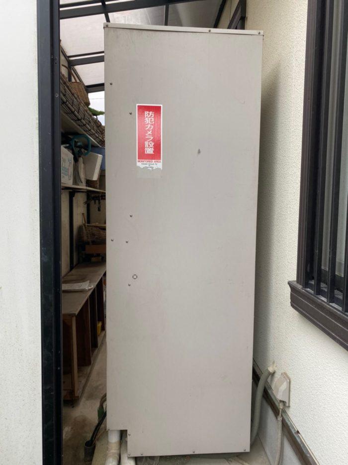 奈良県三菱エコキュートSRT-P374UA施工前の写真