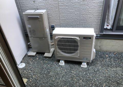 大阪府三菱エコキュートSRT-S374UA施工後その他の写真4