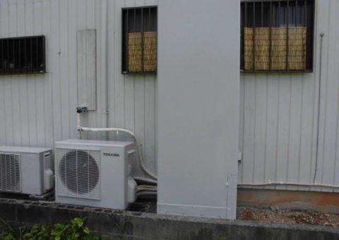 大阪府東芝エコキュートHWH-466HA施工後の写真
